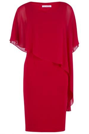 Платье Gina Bacconi. Цвет: красный