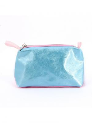 Косметичка  Морской бриз Dewal. Цвет: голубой, розовый