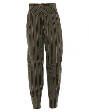 Повседневные брюки I'M ISOLA MARRAS. Цвет: зеленый-милитари