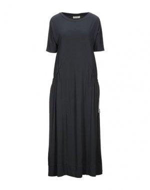 Платье длиной 3/4 ALPHA STUDIO. Цвет: темно-синий