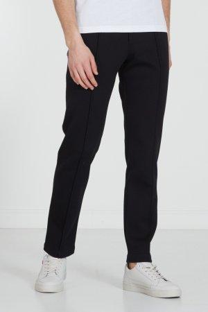 Черные спортивные брюки со стрелками Fendi. Цвет: черный