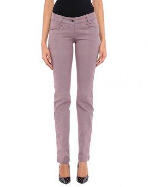 Повседневные брюки HEAVEN TWO. Цвет: розовато-лиловый