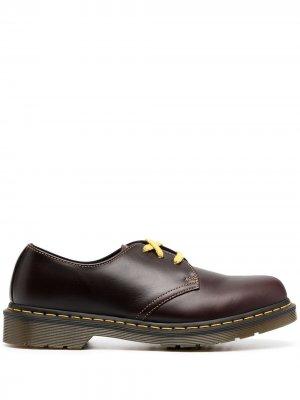 Туфли на шнуровке Dr. Martens. Цвет: коричневый