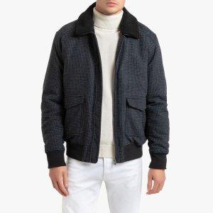 Куртка-пилот LaRedoute. Цвет: серый