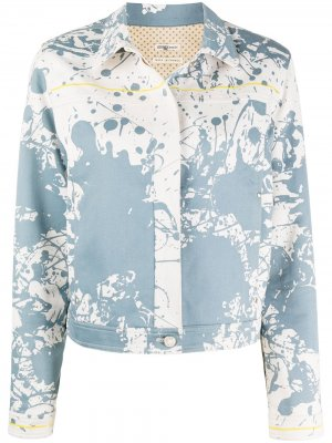 Джинсовая куртка Cheval Surprise 2000-х годов pre-owned Hermès. Цвет: синий