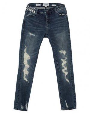 Джинсовые брюки-капри FRACOMINA. Цвет: синий
