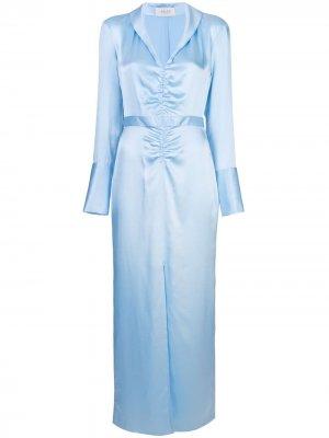 Платье со сборкой спереди Arias