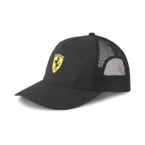 Кепка Scuderia Ferrari Trucker Cap PUMA. Цвет: черный