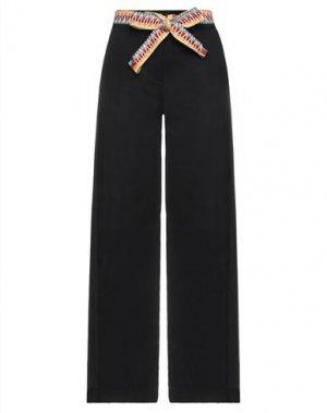 Повседневные брюки COMPAGNIA ITALIANA. Цвет: черный