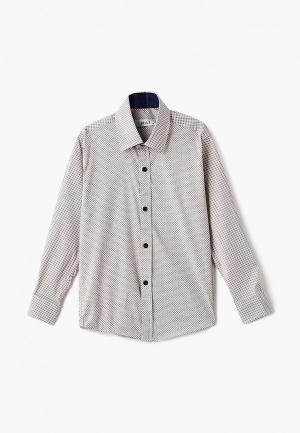 Рубашка MiLi. Цвет: бежевый