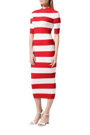 Платье BELUCCI. Цвет: красная полоска