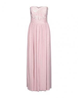 Платье длиной 3/4 LIPSY. Цвет: розовый