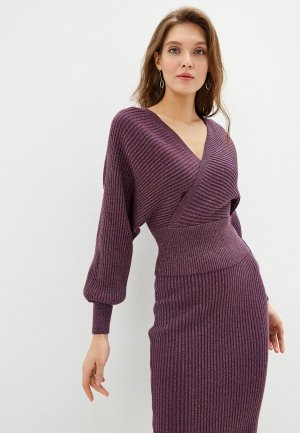 Пуловер Love Republic. Цвет: фиолетовый