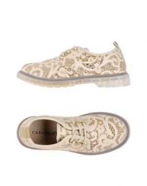 Обувь на шнурках CAFèNOIR. Цвет: золотистый