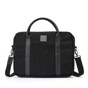 Сумка-чемоданчик La Redoute. Цвет: черный
