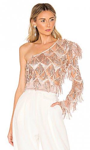 Блузка raleigh Zhivago. Цвет: розовый