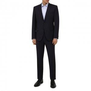Шерстяной костюм BOSS. Цвет: фиолетовый