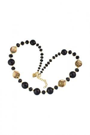 Ожерелье ZECCHIN VENICE. Цвет: черный