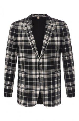 454007d82d614 Пиджак из смеси шерсти и кашемира Burberry. Цвет: черно-белый