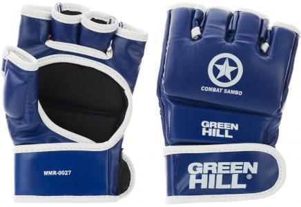 Перчатки Combat Sambo Green Hill