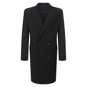 Шерстяное пальто Juun.J. Цвет: чёрный