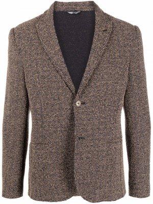 Однобортный пиджак Daniele Alessandrini. Цвет: нейтральные цвета