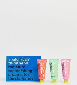 Набор кремов для рук replenishing cream for thirsty hands-Бесцветный Anatomicals