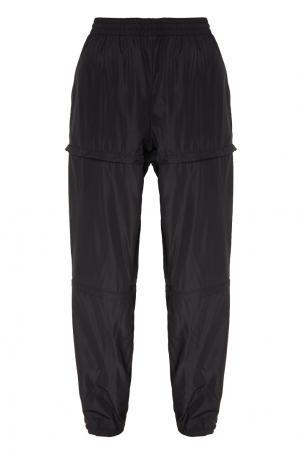Черные брюки в спортивном стиле Balenciaga Man. Цвет: черный