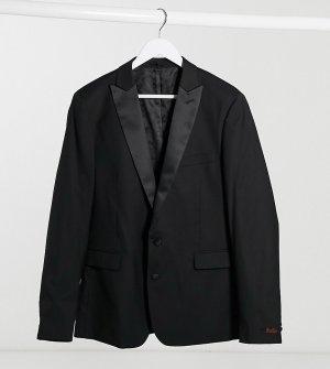 Пиджак скинни Plus-Черный цвет Devils Advocate