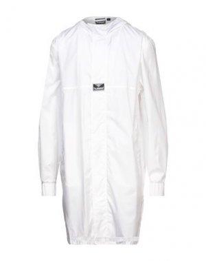 Легкое пальто HUMMEL. Цвет: белый