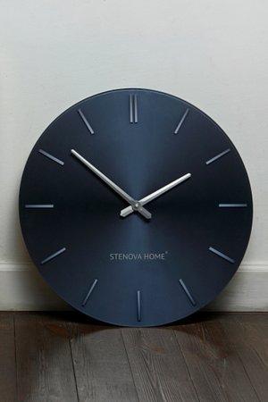 Часы настенные STENOVA HOME. Цвет: черный