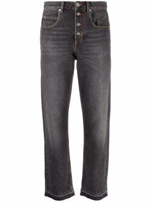 Укороченные джинсы Belden Isabel Marant Étoile. Цвет: серый