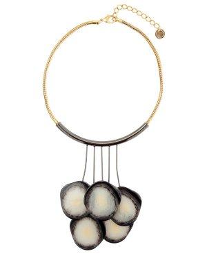 Колье A13M UNI золотой+серебристый Marina Fossati. Цвет: золотой+серебристый