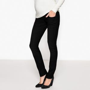 Брюки узкие для периода беременности LA REDOUTE MATERNITÉ. Цвет: белый,темно-синий,черный