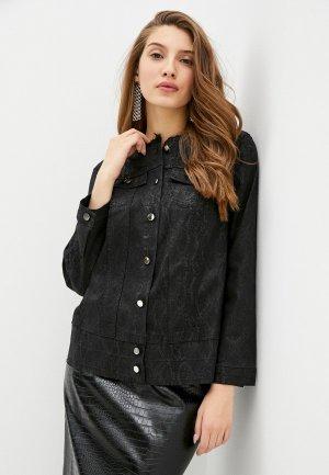 Куртка джинсовая Helmidge. Цвет: черный