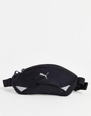 Черная сумка-кошелек на пояс Training-Черный цвет Puma