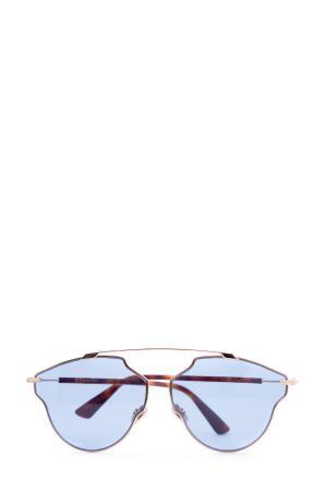 Очки DIOR (sunglasses) women. Цвет: голубой