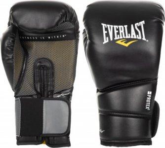 Перчатки боксерские Protex2, размер 14 Everlast. Цвет: черный