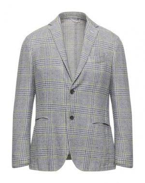 Пиджак GRAN SASSO. Цвет: светло-серый