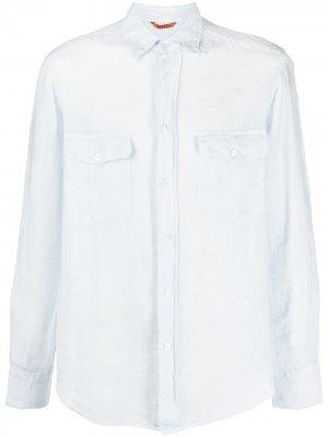Рубашка с карманами Barena. Цвет: синий