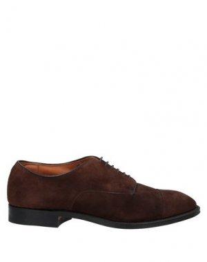 Обувь на шнурках ALDEN. Цвет: коричневый