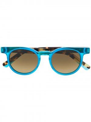 Солнцезащитные очки Ibiza 04 Etnia Barcelona. Цвет: синий