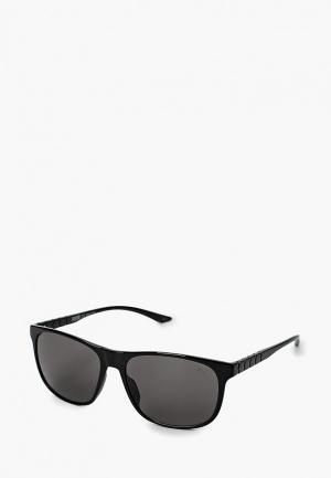 Очки солнцезащитные PUMA PU0132S001. Цвет: черный