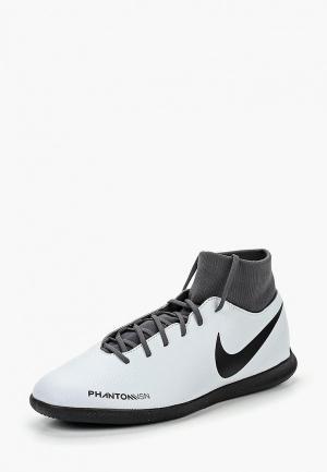 Бутсы зальные Nike PhantomVSN Club Dynamic Fit IC. Цвет: серый