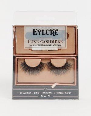 Накладные ресницы Luxe Lashes Cashmere No.9-Черный цвет Eylure