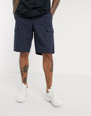 Темно-синие шорты карго -Темно-синий Element