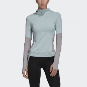 Лонгслив Primeblue by Stella McCartney adidas. Цвет: серый