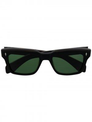Солнцезащитные очки Torino Jacques Marie Mage. Цвет: черный