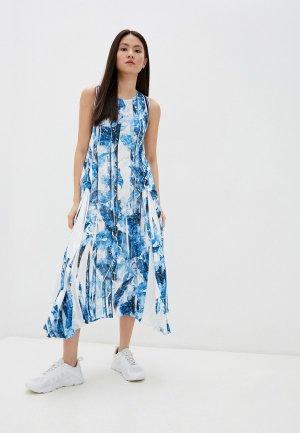 Платье High. Цвет: голубой