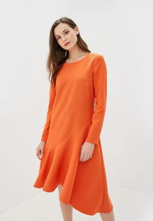 Платье Baon. Цвет: оранжевый